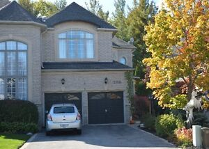 Gorgeous Executive townhouse backing onto a mature forest