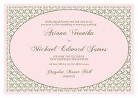 Download & Print Wedding Invitation Customized JPG