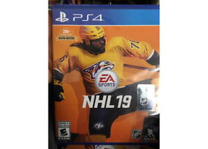 NHL 19. NEW Unopened PS4