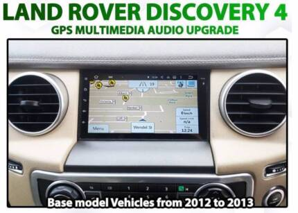 Land Rover Discovery 4 small screen GPS and camera upgrade