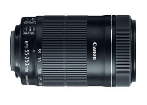 Zoom Tele Canon EF-S 55-250mm Image Stabilizer IS STM
