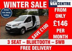 FORD TRANSIT CONNECT 200 SWB BLUETOOTH 3 SEATS