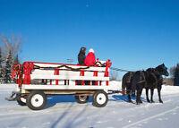 Horse Drawn Wagon and Sleigh Rides
