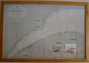 Two Vintage Maritime Charts