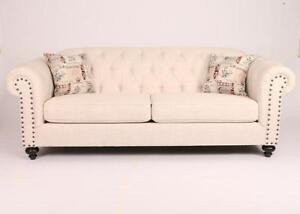 Buy Beige Color Fabric Sofa -made in Canada (AC1116)