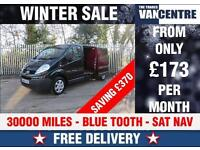 RENAULT TRAFIC LL29 DCI 115 BHP BLUE TOOTH SAT NAV WAS £9370 SAVE £370