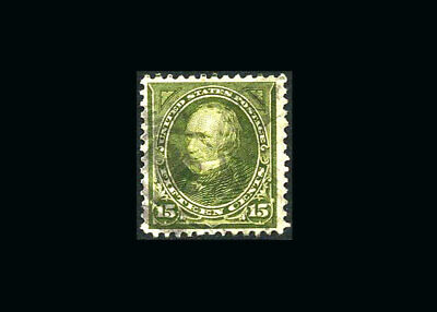 US Stamp Used, XF S#284 light cancel for this issue
