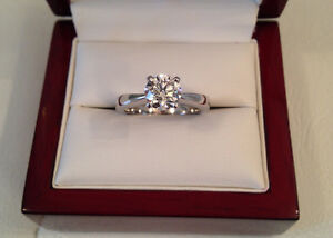 SAVE $11,600 GIA certified! 1.04ct, SI1, H Brand New Condition!