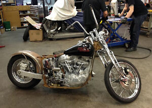 Building a custom chopper or needed parts