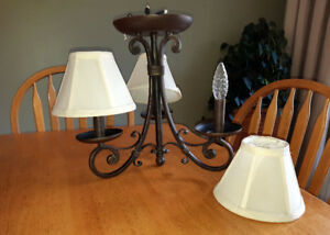 3 Light Candelabra Ceiling Fixture