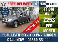 NISSAN NAVARA OUTLAW 3.0 DCI V6 DOUBLE CAB 4X4 AUTOMATIC 228 BHP FULL LEATHER