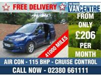 FORD TRANSIT CONNECT 200 LIMITED SWB 115 BHP AIR CON CRUISE CONTROL 3 SEATS