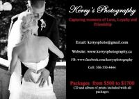 Wedding Packages Available $500 to $2000