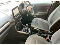 2018 Ford Ecosport 1.0 EcoBoost Zetec 5 door Hatchback Petrol Manual