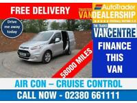 FORD TRANSIT CONNECT 200 L1 H1 LIMITED SWB 115 BHP AIR CON 3 SEATS