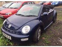 04 plate Volkswagen Beetle convertible DIESEL!!! **motd till may 2017**