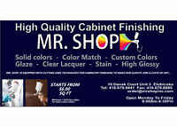 PAINT SHOP FOR KITCHEN CABINETS TRADES