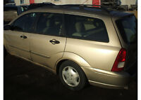 PARTS AVAILABLE FOR A 2001 FORD FOCUS WAGON LE