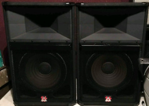 2 Peavey Speakers $550 final price