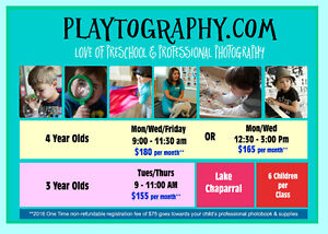 Playtography in Lake Chaparral