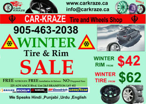 New Winter Tires And Steel Rim Package For All Cars 905 463 2038
