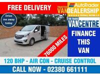 VAUXHALL VIVARO 2700 L1 H1 SPORTIVE SWB 120 BHP AIR CON CRUISE CONTROL 3 SEATS