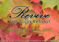 Revive Fall Yoga Retreat!