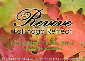 Revive Fall Yoga Retreat! Kawartha Lakes Peterborough Area image 1