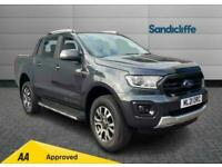 2021 Ford Ranger Diesel Pick Up Double Cab Wildtrak 2.0 EcoBlue 213 Automatic Pi