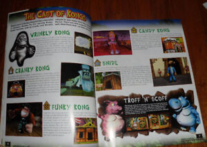 Official Donkey Kong 64 N64 Nintendo Power DK64 Strategy Guide