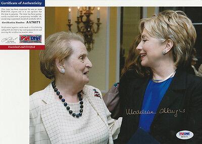 Madeleine Albright Secretary Of State Signed Autograph 8X10 Photo Psa Dna Coa  6