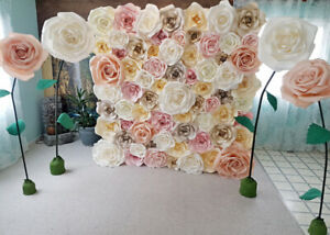 3D Flower Wall for Rent