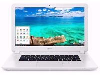 Acer Chromebook 15 CB5-571 very fast and over 10 hours battery largest chromebook 15 inch screen