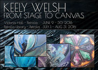 Keely Welsh - From Stage to Canvas- PETROLIA LIBRARY
