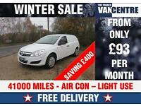 VAUXHALL ASTRA VAN CLUB 1.7 CDTI SWB 110 BHP AIR CON WAS £5170 SAVE £400