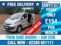 VAUXHALL VIVARO 2700 CDTI SPORTIVE SWB 115 BHP TWIN SIDE DOORS AIR CON 3 SEATS