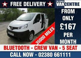 NISSAN NV200 1.5 DCI ACENTA CREW VAN 5 SEAT BLUETOOTH ELECTRIC PACK