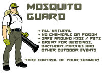 All Natural Mosquito Control for Outdoor Weddings - NO CHEMICALS