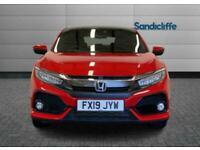 2019 Honda Civic 1.5 VTEC Turbo Prestige 5 door CVT Auto Hatchback Petrol Automa