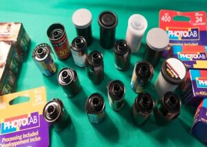 For Sale - Selection of unexposed 35mm film