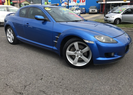 2004 mazda rx8 blacked out. from 38 per week on finance 2004 mazda rx8 coupe rx8 blacked out
