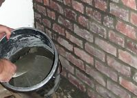 Chimney Repairs/Tuck Pointing/Brick Faces/Insured