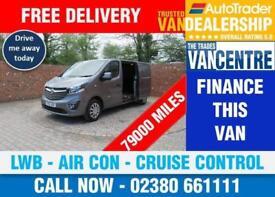 VAUXHALL VIVARO 2900 L2 H1 SPORTIVE LWB 115 BHP AIR CON CRUISE CONTROL 3 SEATS