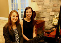 Guelph ceremony and dinner musicians - piano, violin, guitar