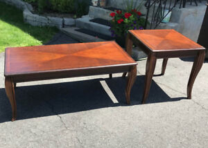 Coffee and End Table