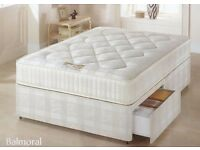 FREE FAST DELIVERY!!DOUBLE DIVAN SUPER ORTHOPEDIC BED !! BED BASE + SUPER ORTHOPEDIC MATTRESS