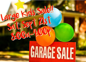 BIG Kids Garage Sale!!!