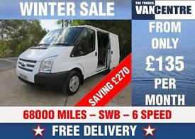 FORD TRANSIT 260 SWB 2.2 TDCI 100 BHP 6 SPEED HEATED SCREEN WAS £7270 SAVE £270