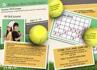 Pickering Minor Tennis League (Lessons,kids,activities)