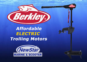 Boat Show Special -  Transom Electric Trolling Motor Package